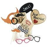 Fotostand Vintage-Stil Hochzeit / Partei Requisiten Kit