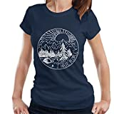 Cloud City 7 The Great Outdoors I Hate People Women's T-Shirt