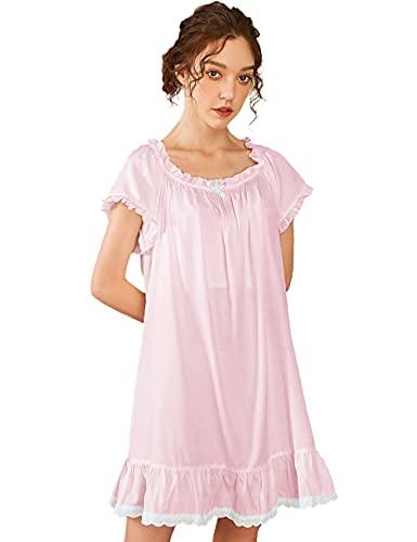 Nanxson Damen Baumwolle Nachthemd...