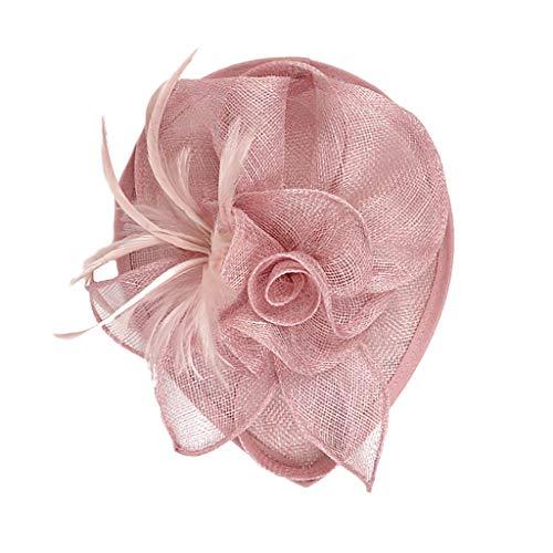 carol -1 Damen Fascinator Blumen Netz...