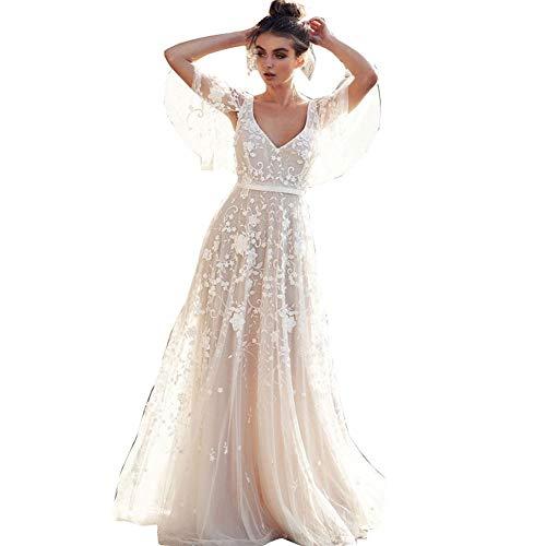 Hochzeitskleid Damen Lang Brautkleider...
