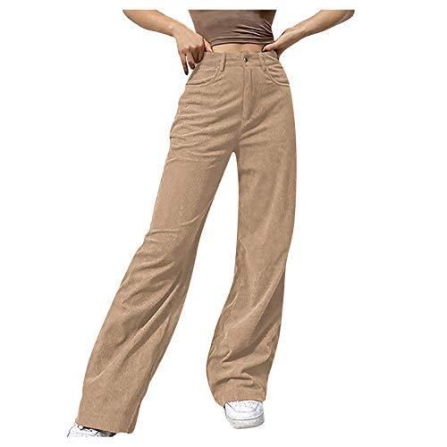 Damen Cordhose Y2K Style Vintage...