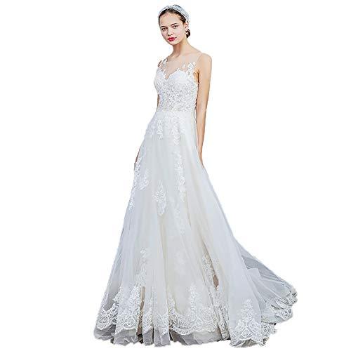 roroz Women's Sweet Lace Brautkleid,...