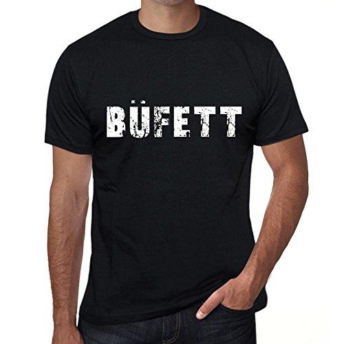 büfett Herren T-Shirt Schwarz...