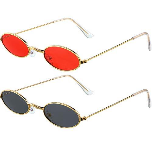 Frienda 2 Paare Vintage Sonnenbrille...