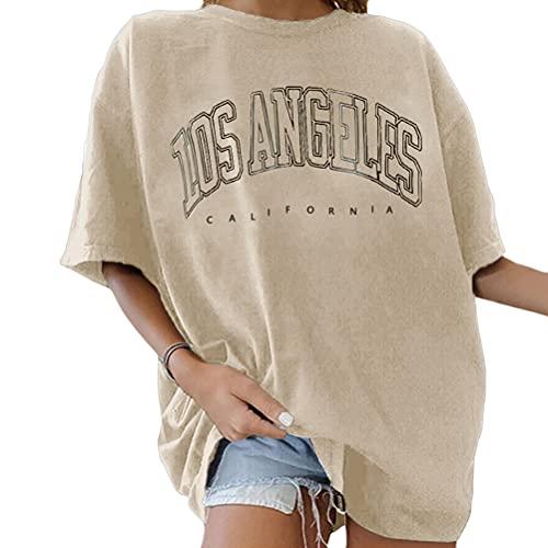 Tomwell T-Shirt Damen Oversized Mode...