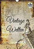 Vintage Welten (Wandkalender 2021 DIN A4 hoch)