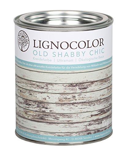 Kreidefarbe (Weiss) Shabby Chic Lack...