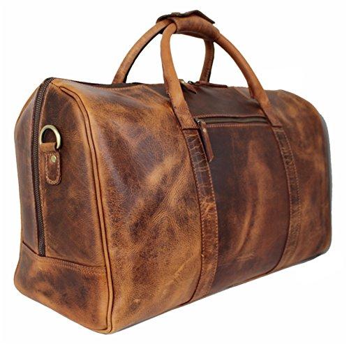Corno d´Oro Reisetasche Leder Vintage I...