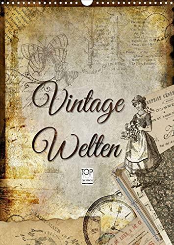 Vintage Welten (Wandkalender 2022 DIN A3...
