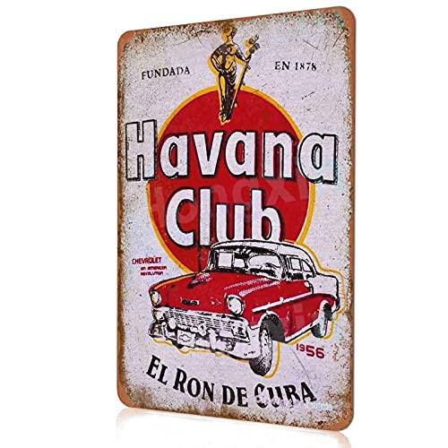 HONGXIN Havana Club Schild Vintage...