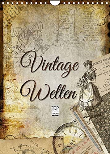 Vintage Welten (Wandkalender 2022 DIN A4...