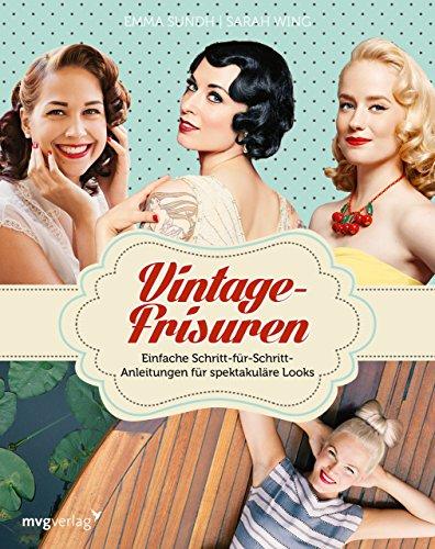 Vintage-Frisuren: Einfache...