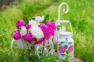 Garten im Vintage-Stil - schöne Ideen für Deko und Blumen ...