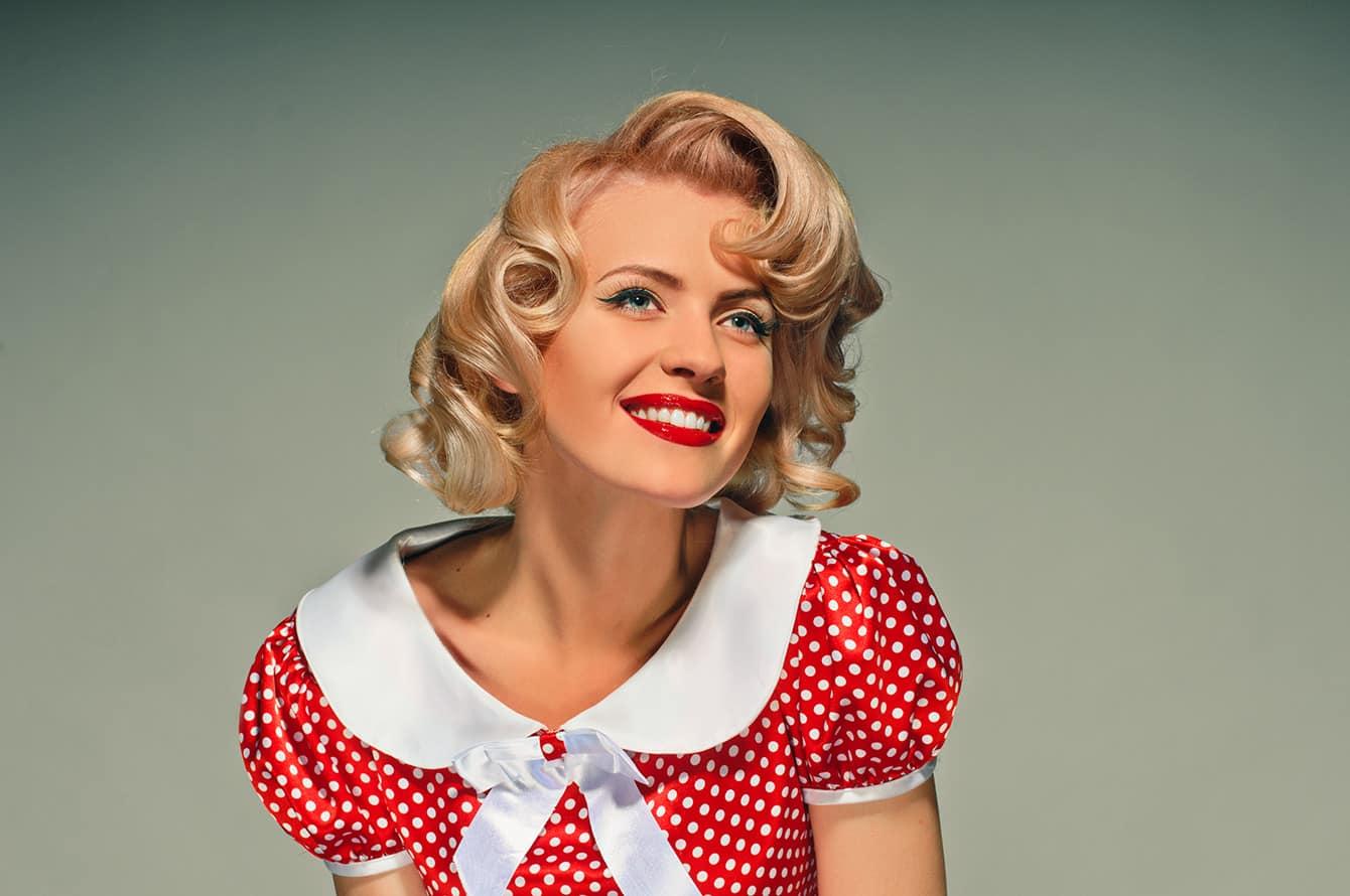 Vintage Frisuren - der Retro-Look ist wieder im Trend
