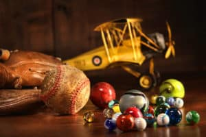 Vintage Spielsachen - zum Spielen leider nicht geeignet