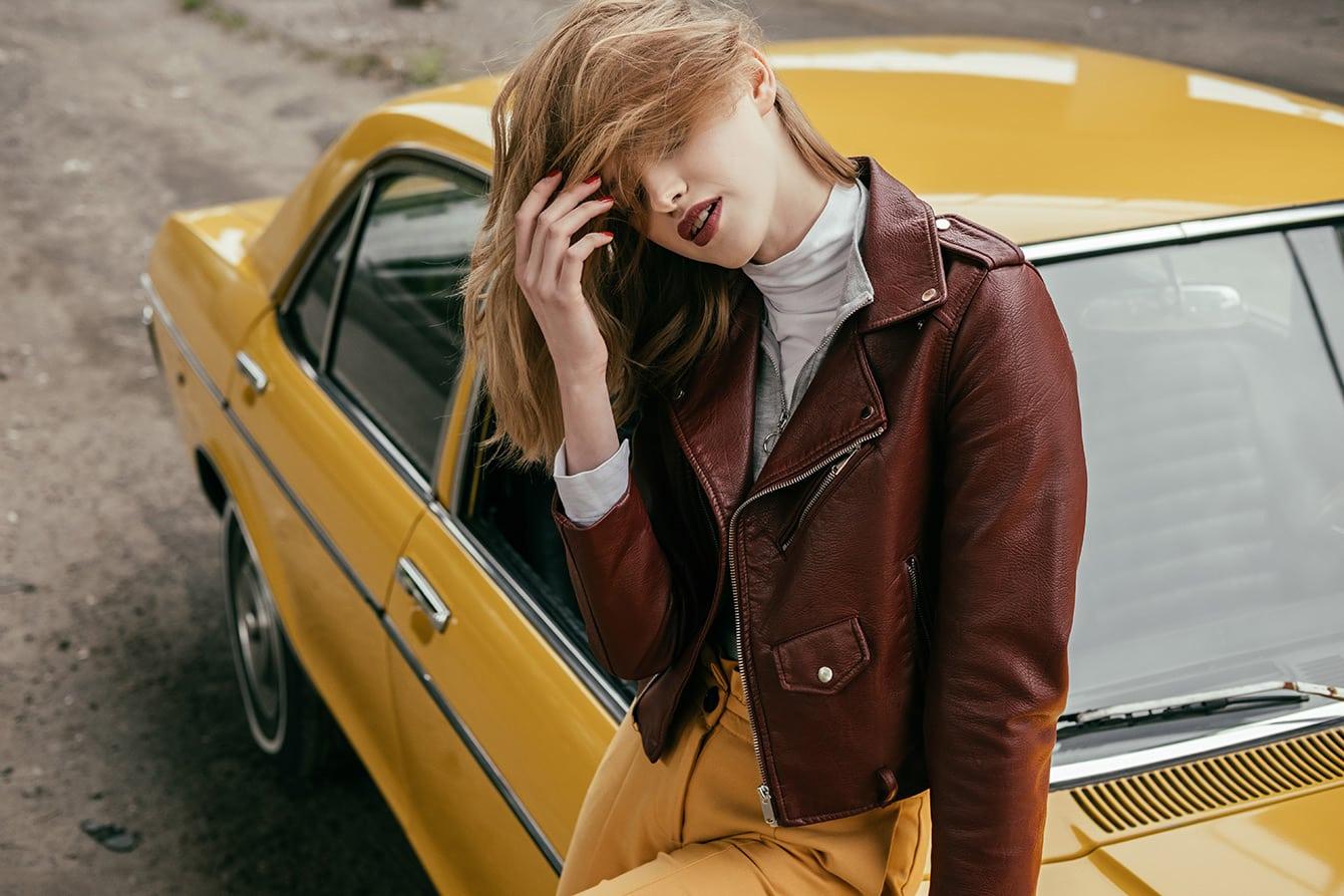 Die Vintage Lederjacke - Kult für Damen und Herren