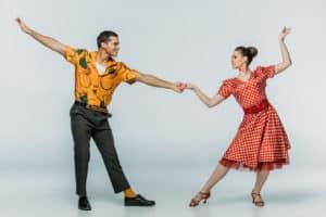 Novelty Print - Vintage Röcke, die Geschichten erzählen